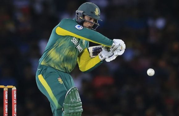 De Kock sets up victory for South Africa