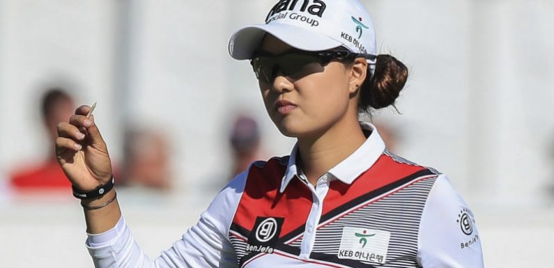 Scintillating round has Aussie Lee leading British Women's Open