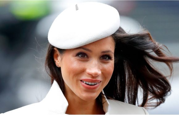 If You Want to Know How Meghan Markle Ties an Outfit Together, Just Look on Top of Her Head
