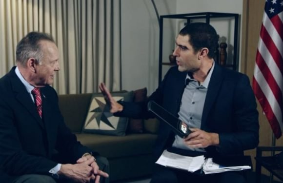 Sacha Baron Cohen embarrasses Roy Moore with fake paedophile detector