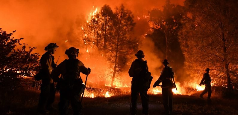 Biggest blaze in California history stretches firefighter's resources thin