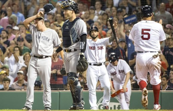 Yankees completely outclassed by Red Sox in brutal beatdown