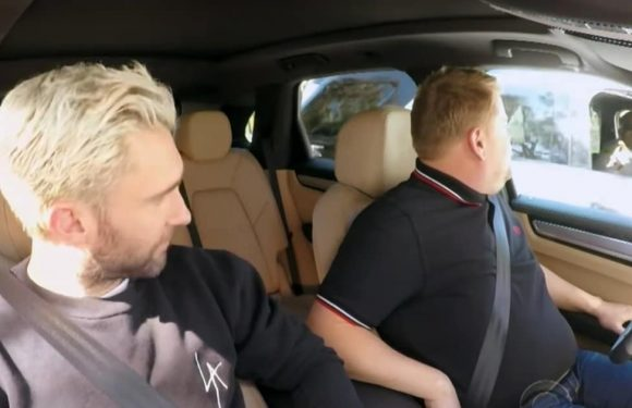 James Corden and Adam Levine Get Pulled Over by Police During 'Carpool Karaoke'