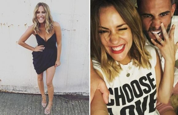 Caroline Flack ditches engagement ring on Love Island reunion despite getting back together with Andrew Brady
