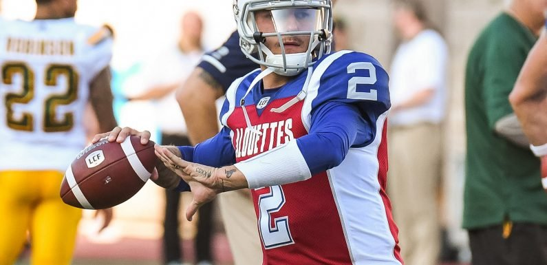 Johnny Manziel's Canadian debut isn't without controversy