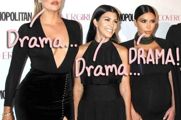 Kim, Kourtney, & Khloé Kardashian's Lingering Feud Gets UGLY On Twitter After Contentious KUWTK Episode — LOOK!