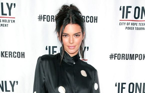 Kendall Jenner Provides a Masterclass in Rocking Retro Polka Dots