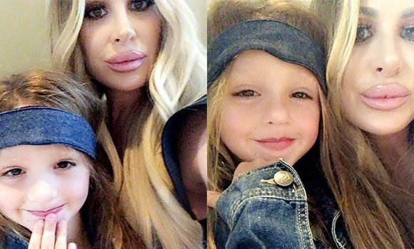 Kim Zolciak's Lips Look Absolutely HUGE In New Selfie With Daughter, 4 — Shocking Pic
