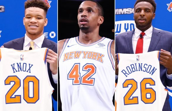 The veteran who's going to school Knicks' rookie studs