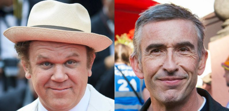 First look at Steve Coogan and John C Reilly as iconic comedy duo Laurel and Hardy
