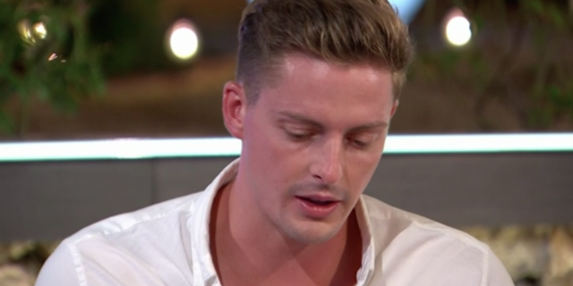 Alex George defends his treatment of Alexandra Cane as the pair leave Love Island
