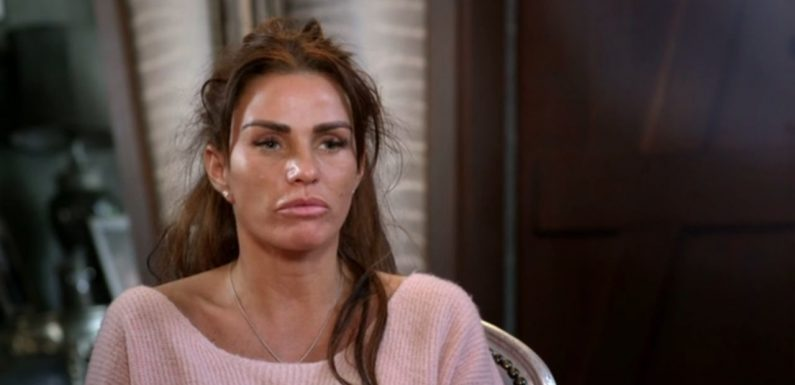 Katie Price breaks down in tears on My Crazy Life as she learns of Kieran Hayler's cheating