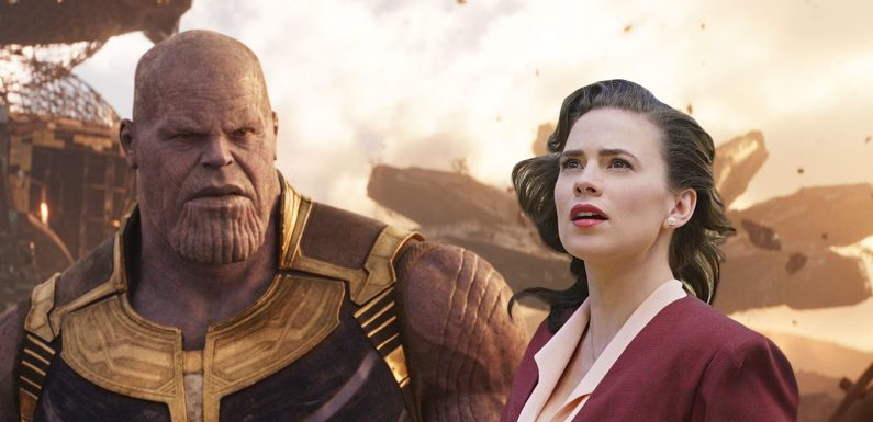Hayley Atwell doesn't know who Thanos is in Avengers: Infinity War!