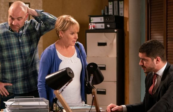 Coronation Street's Sally Dynevor drops a very worrying hint on Sally Metcalfe's future