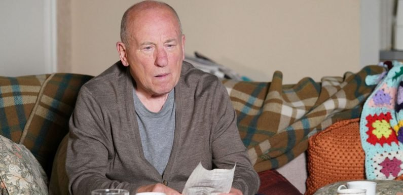 EastEnders' Ted Murray to receive shock Joyce message from beyond the grave