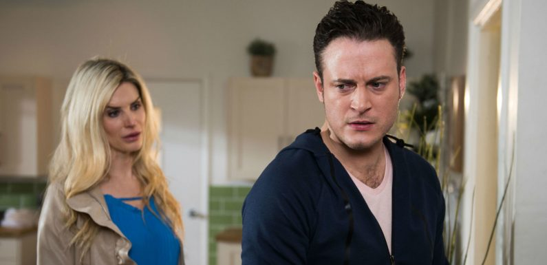 Hollyoaks fans think Luke Morgan needs to 'open his eyes' over wife Mandy's affair