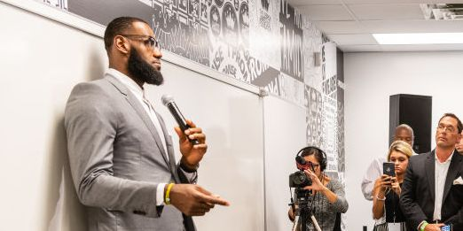 LeBron James Opened a School in Akron Before He Leaves for the Lakers