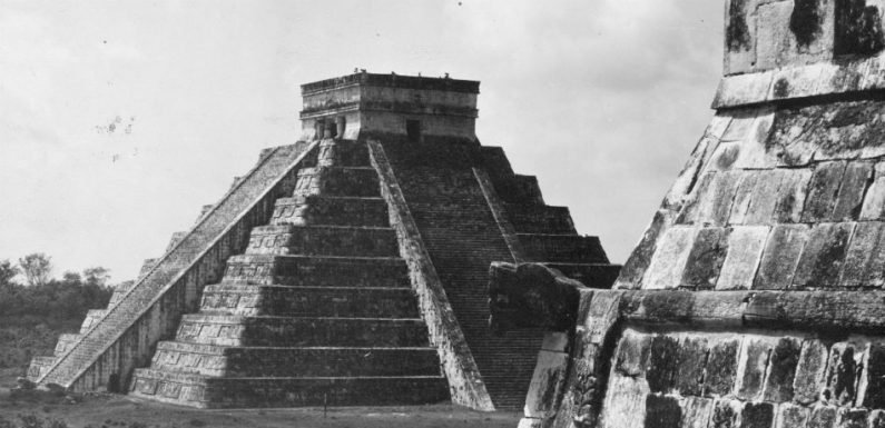Scientists Have Devised A Way To Measure The Drought That Occurred As The Maya Civilization Disintegrated