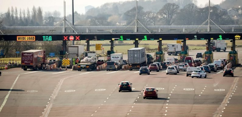 Huge motorway delays after Severn Bridge closed due to too many staff being off sick