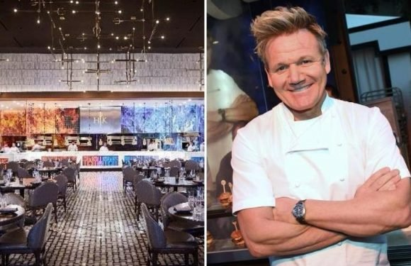 Two injured at Gordon Ramsay's new Las Vegas restaurant Hell's Kitchen after 'being burned by flaming tiki-style cocktail'