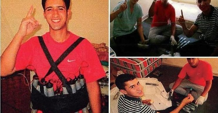 Chilling new pictures show jihadis laughing as they make bombs ahead of Barcelona terror attack