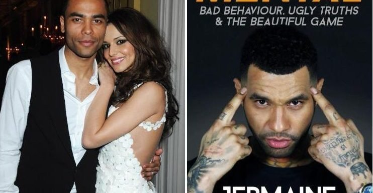 Ashley Cole once had to lock himself and Cheryl in his flat when the GIRLFRIEND he was still seeing returned, Jermaine Pennant book claims