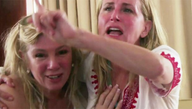 'RHONY': Bethenny Frankel & Co-Stars Fear Death During 'Boat Ride From Hell' — Watch