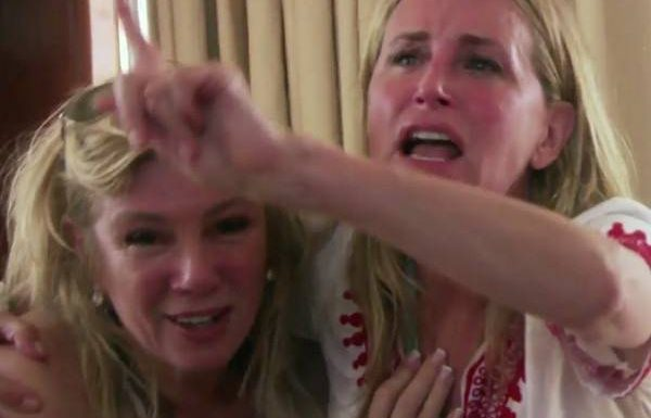 Exclusive! RHONY's Boat Ride Is Full of Fights & Soiled Pants