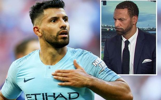 Rio Ferdinand praises Sergio Aguero and says he 'would take him over Harry Kane' after Manchester City's Community Shield win
