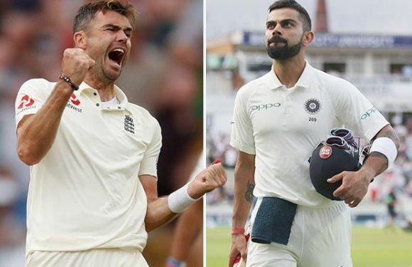 James Anderson ready to resume battle with Virat Kohli after spending night dreaming of getting him out – The Sun