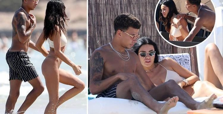 England hero Dele Alli and girlfriend Ruby Mae relax on Ibiza beach as Tottenham ace gets ready to return for pre-season
