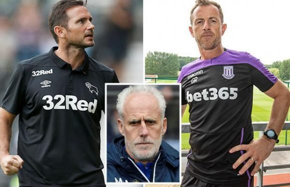 Mick McCarthy tips Gary Rowett to take Stoke back up at the first attempt but West Brom Swansea and Aston Villa will push them hard