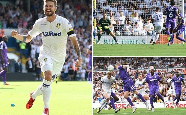 Leeds 3 Stoke 1: Marcelo Bielsa marks first game as Whites boss in style but it's one to forget for Potters keeper Jack Butland