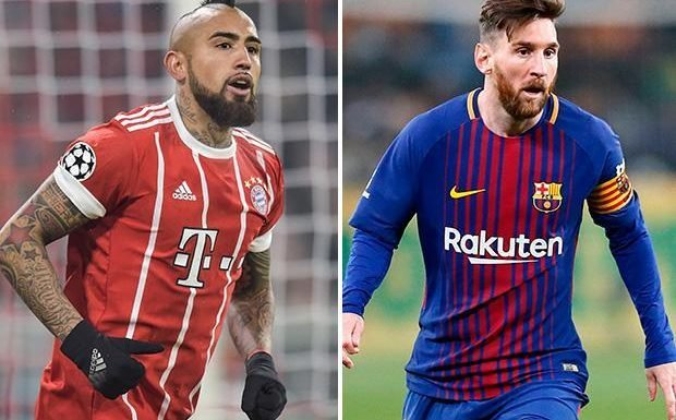 Arturo Vidal and Lionel Messi could be in for awkward time at Barcelona as Chilean's past comment about Argentine emerge