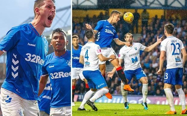 Rangers 1 Osijek 1 (Gers win 2-1 on aggregate) – Nikola Katic nets to KO fellow Croats but Europa League joy is overshadowed by violence outside Ibrox