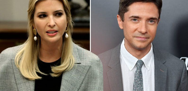 Topher Grace addresses brief romance with Ivanka Trump