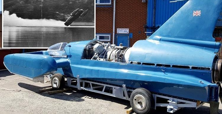 Record-breaking speedboat Bluebird is restored 51 years after crash that killed driver Donald Campbell