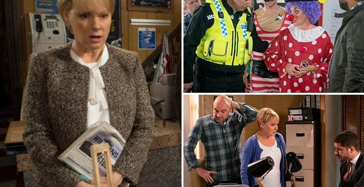 Coronation Street Sally Webster to be jailed for fraud after being set up by a ruthless conman and turned on by her neighbours