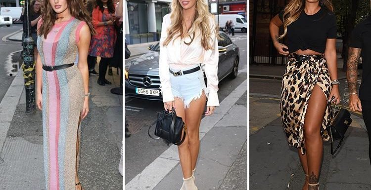 Olivia Attwood, Amber Davies and Jess Shears lead the glam arrivals at The Sun's Love Island party