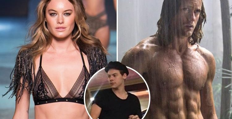 Harry Styles' model ex-girlfriend Camille Rowe moving on with hunky Tarzan actor Alexander Skarsgård