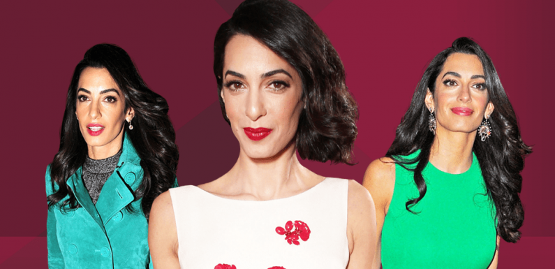 Amal Clooney Does Vacation Style Right in a Deconstructed Monse Mini