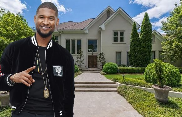 Usher sells the mansion he bought at the start of his career