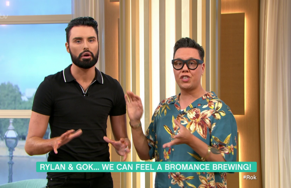This Morning host Gok Wan gets Rylan Clark-Neal's name wrong in embarrassing blunder seconds into presenting first show together