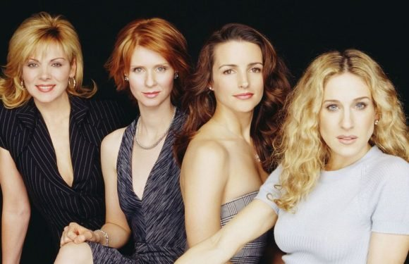 Kristin Davis leaves Kim Cattrall out of Sex and the City throwback photo
