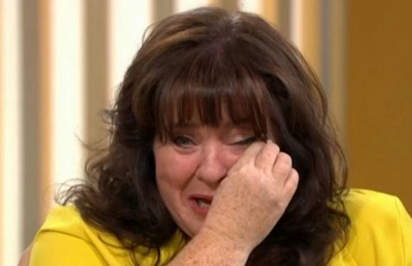Tearful Coleen Nolan discusses 'worst week of her life' after Kim Woodburn clash