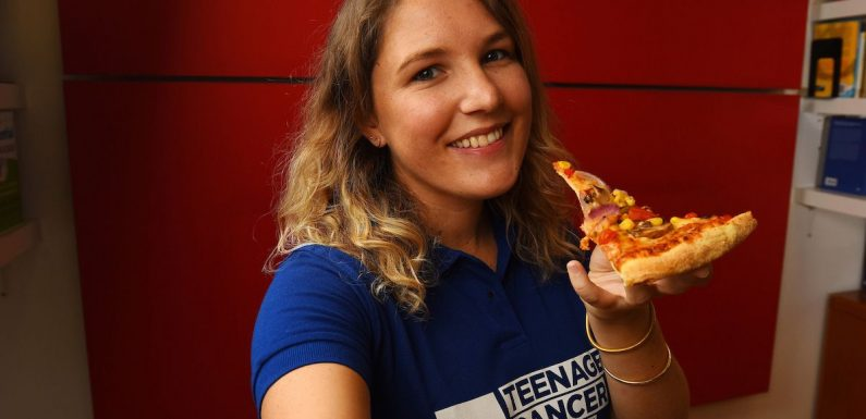 Take a pizza selfie and Domino's Pizza will donate to Teenage Cancer Trust