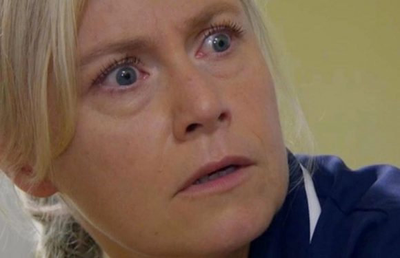 Emmerdale's Rebecca may finally be freed as creepy nurse realises the truth