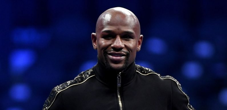 Floyd Mayweather shows off his stunning results after just one week's training
