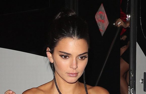 Kendall Jenner stuns in completely sheer outfit at NYFW party