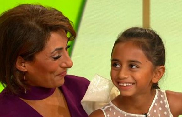 Tearful Saira Khan reveals miraculous story of rescuing and adopting daughter